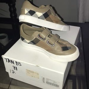 Kids unisex Burberry shoes
